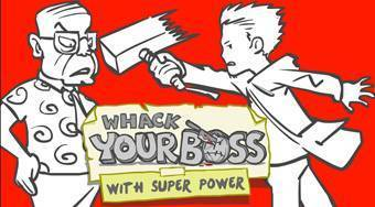Whack Your Boss: Superhero Style | Online hra zdarma | Superhry.cz
