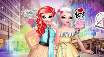 Princesses BFF's in New York | Online hra zdarma | Superhry.cz