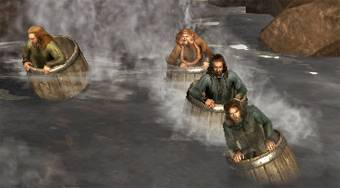 The Hobbit: Barrel Escape   Online hra zdarma   Superhry.cz