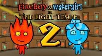 Oheň a voda 2 | (Fireboy and Watergirl 2 in the LIght Temple) | Online hra zdarma | Superhry.cz