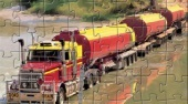Road Train Truck Puzzle | Online hra zdarma | Superhry.cz