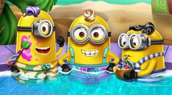 Minions Pool Party | Online hra zdarma | Superhry.cz