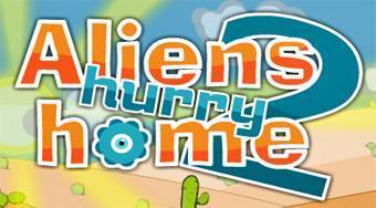Aliens Hurry Home 2 | Online hra zdarma | Superhry.cz