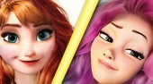 Anna Vs Rapunzel: Teen Queen Contest