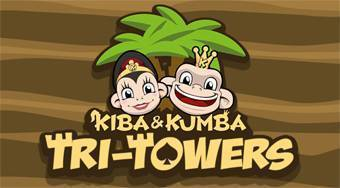 Kiba & Kumba Tri Towers Solitaire | Online hra zdarma | Superhry.cz