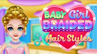Baby Girl Braided Hairstyle | Online hra zdarma | Superhry.cz