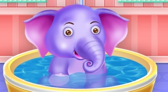 Little Elephant Day Care | Online hra zdarma | Superhry.cz