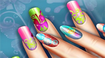 Floral Realife Manicure | Online hra zdarma | Superhry.cz