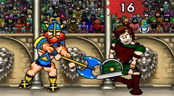 Gladiátor: Champions Sprint | (Sword and Sandals: Champions Sprint) | Online hra zdarma | Superhry.cz