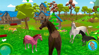 Horse Family: Animal Simulator 3D | Online hra zdarma | Superhry.cz