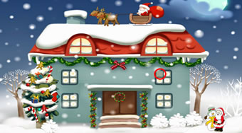 Christmas Rooms Differences | Online hra zdarma | Superhry.cz