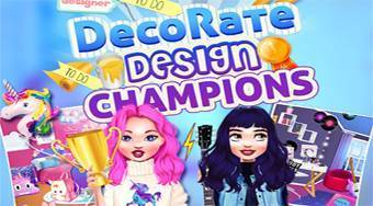 DecoRate: Design Champions | Online hra zdarma | Superhry.cz
