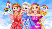 Disney Rainbow Dressup