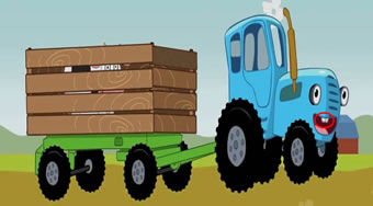Blue Tractors Differences | Online hra zdarma | Superhry.cz