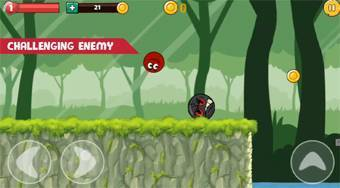 Ball Hero Adventure: Red Bounce Ball | Online hra zdarma | Superhry.cz