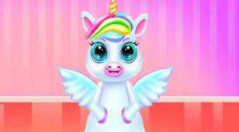 Little Unicorn Caring And Dressup