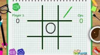 Tic Tac Toe Paper Note | Online hra zdarma | Superhry.cz