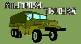 Military Trucks Coloring | Online hra zdarma | Superhry.cz