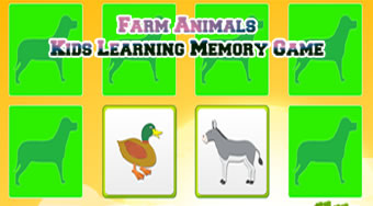 Kids Learning Farm Animals | Online hra zdarma | Superhry.cz