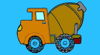 Trucks Coloring Book | Online hra zdarma | Superhry.cz