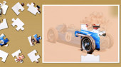 Painting Vintage Cars Jigsaw