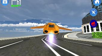 Flying Car Driving Simulator | Online hra zdarma | Superhry.cz