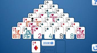 FGP Pyramid Solitaire | Online hra zdarma | Superhry.cz