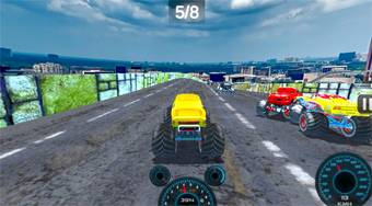 Real Simulator: Monster Truck | Online hra zdarma | Superhry.cz