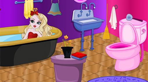 Apple White Bathroom Decoration   Online hra zdarma ...